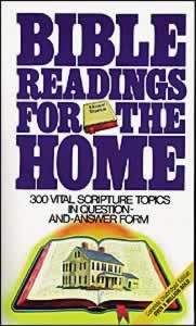 Bible Readings for the Home - Table of Contents